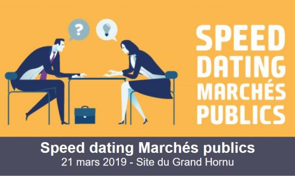 Speed dating marchés publics 2019